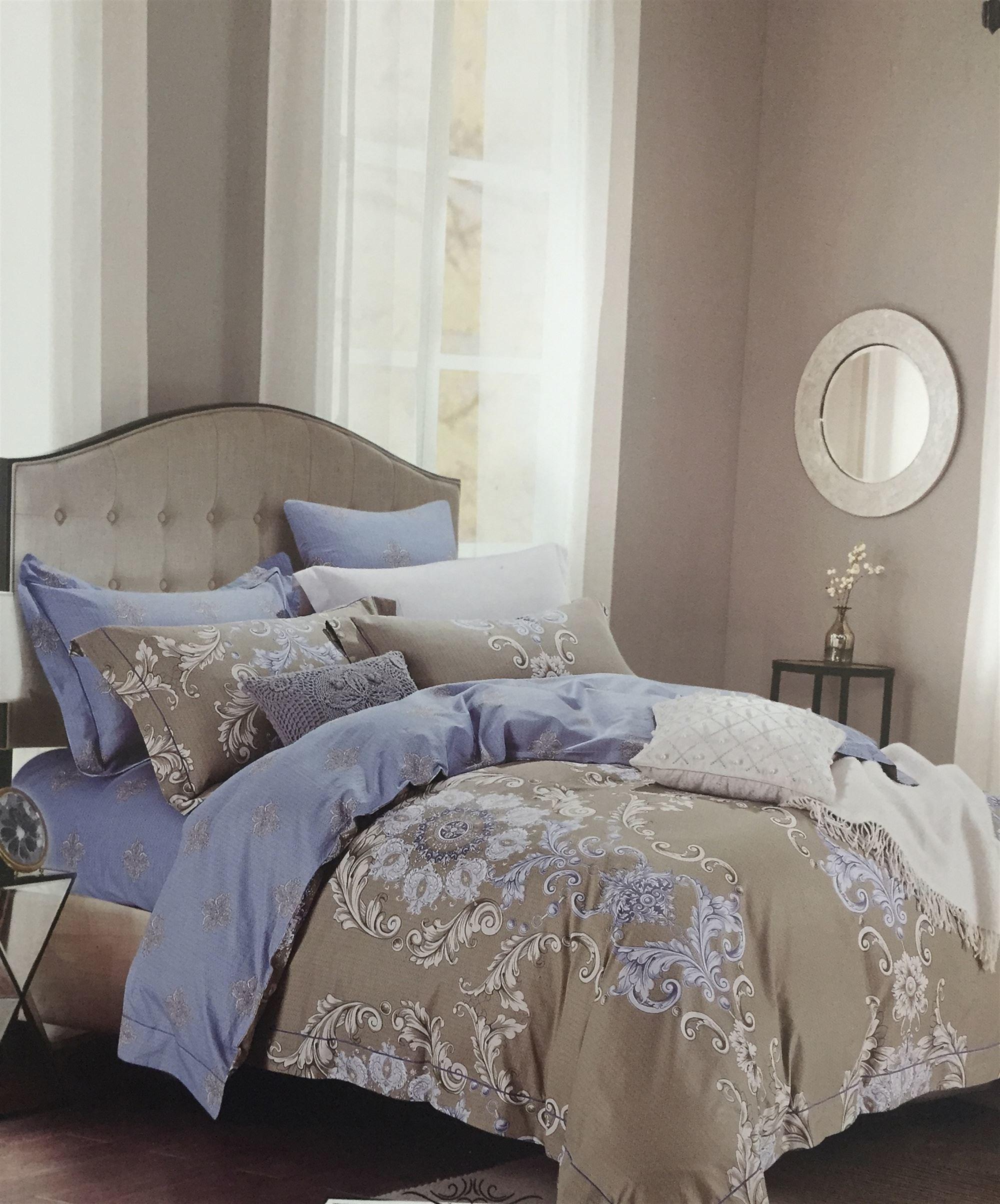 Постельное белье DO'n'CO Постельное белье Vanessa (2 сп. евро) постельное белье bovi постельное белье крокодил цвет шоколад 2 сп евро
