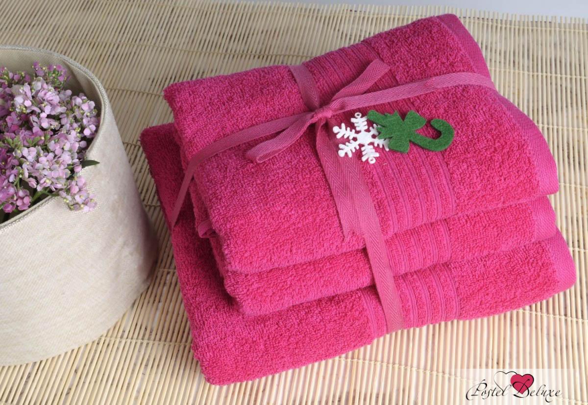 Полотенца IRYA Полотенце Shalla Цвет: Малиновый (50х90 см)