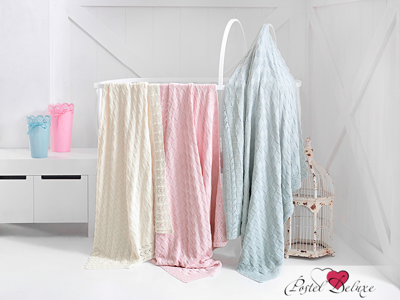 Детские покрывала, подушки, одеяла Issimo Детский плед Jesse Цвет: Розовый (80х110 см) помпа на клитор с вибрацией jesse s vibro pussy sucer розовый