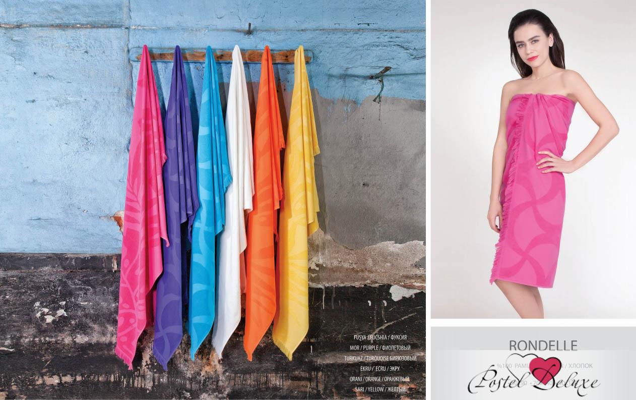 Полотенца Issimo Полотенце Rondelle Цвет: Оранжевый (70х140 см)