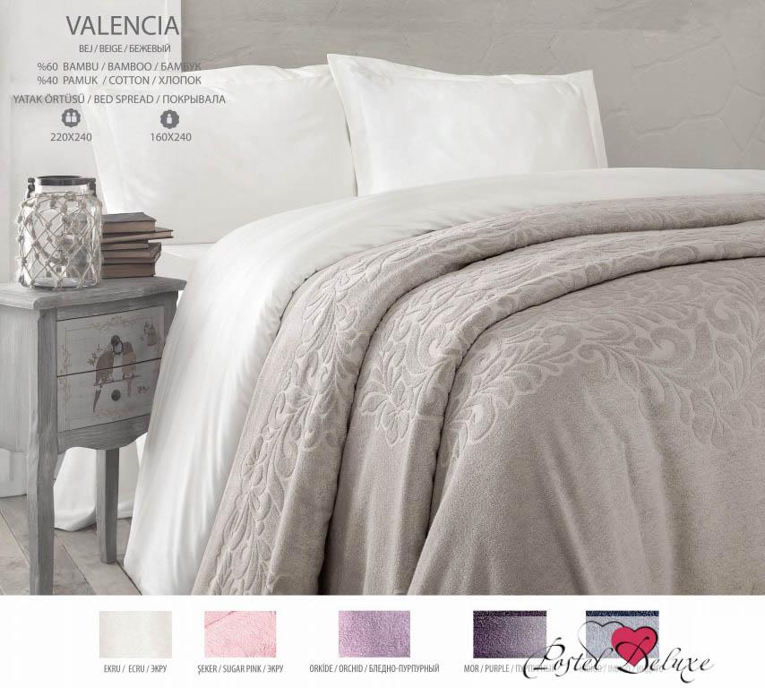{} Issimo Покрывало-простынь Valencia Цвет: Бледно-Розовый (220х240 см)