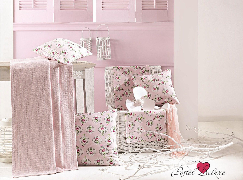 где купить Покрывало Issimo Покрывало Liona Цвет: Розовый (220х240 см) по лучшей цене