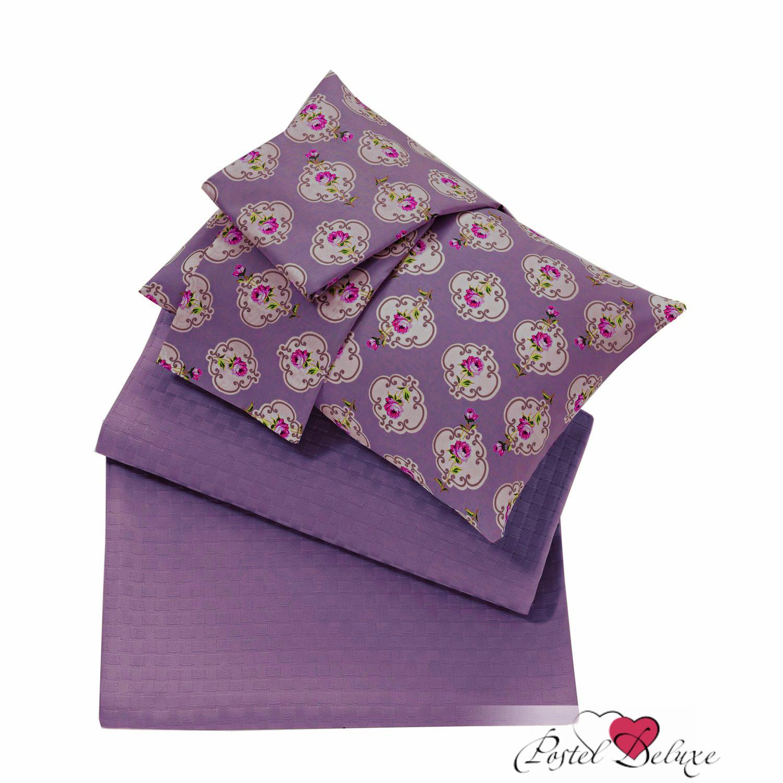 где купить Покрывало Issimo Покрывало Liona Цвет: Пурпурный (220х240 см) по лучшей цене
