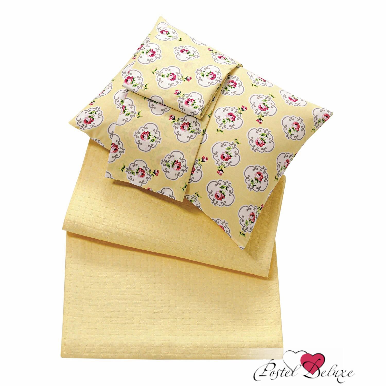 где купить Покрывало Issimo Покрывало Liona Цвет: Желтый (220х240 см) по лучшей цене