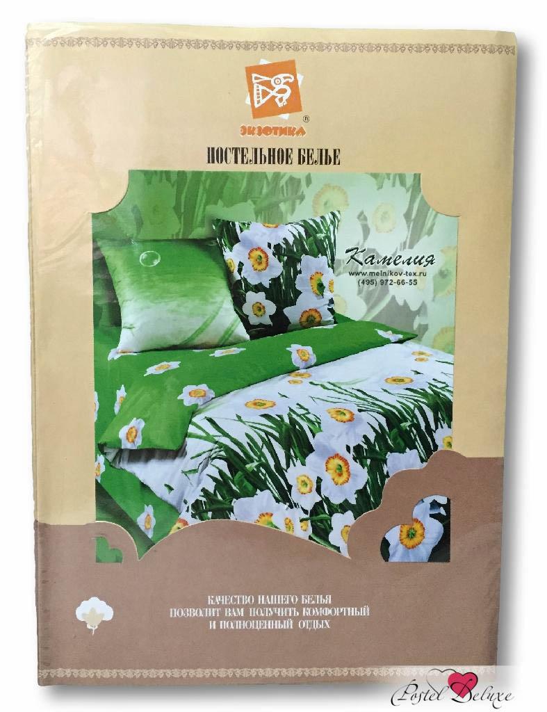 где купить Постельное белье Экзотика Постельное белье Яблоневый Цвет (1,5 спал.) по лучшей цене