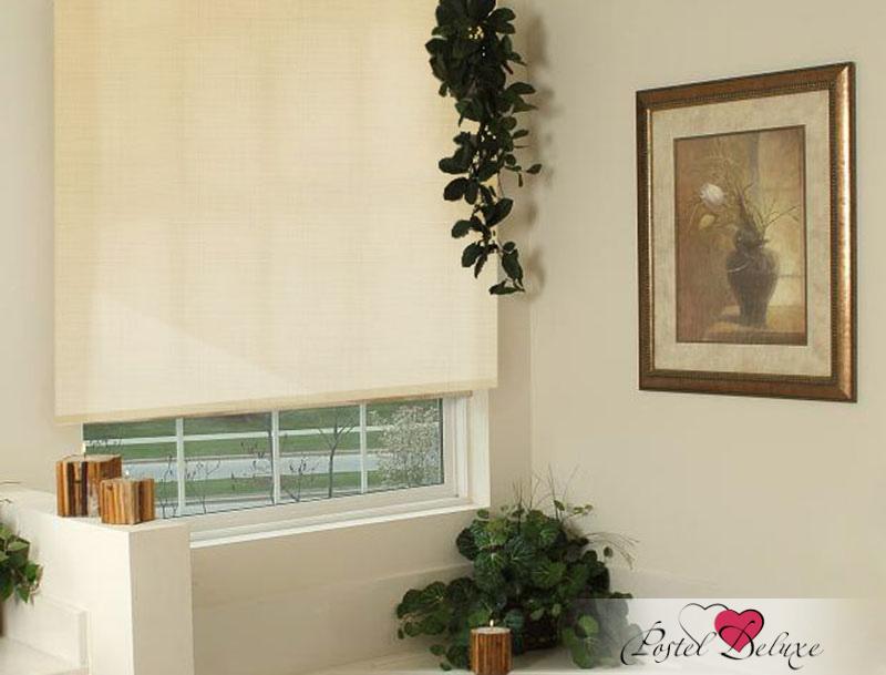 Римские и рулонные шторы Эскар Рулонные шторы Astor Цвет: Бежевый Лен