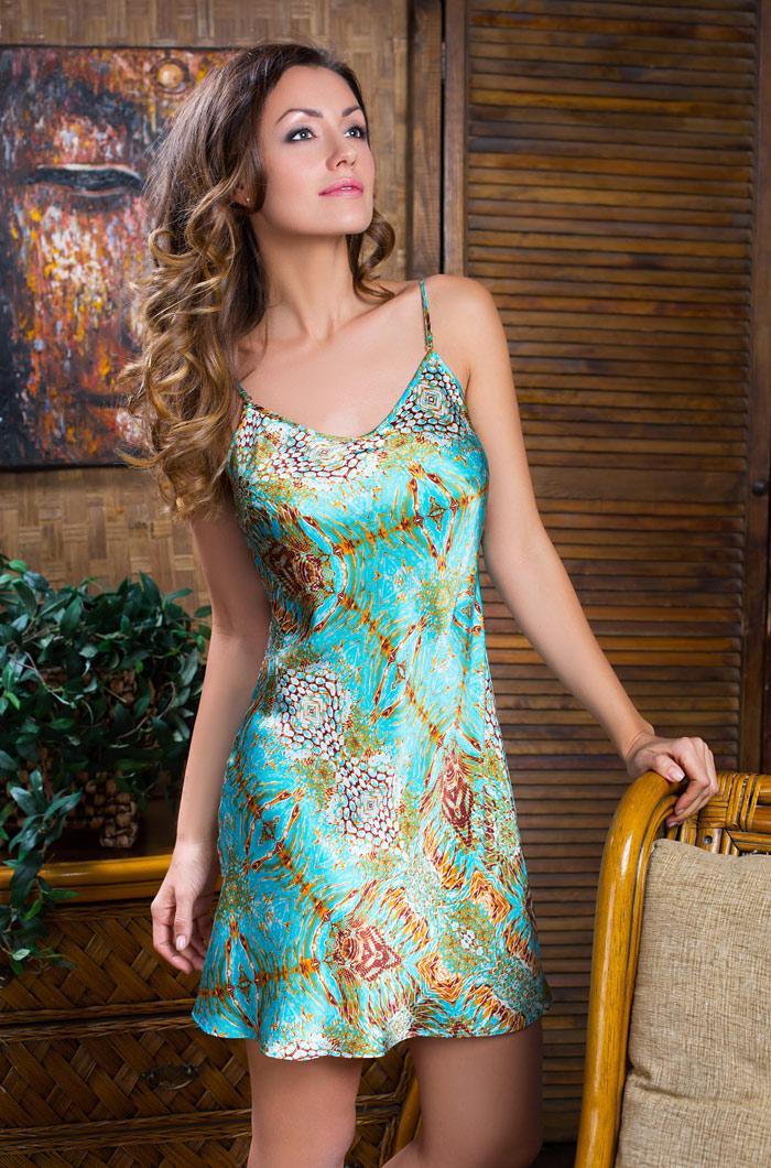 Ночные сорочки Mia-Mia Ночная сорочка Adriana (M) ночные сорочки mia mia ночная сорочка ladi in white m
