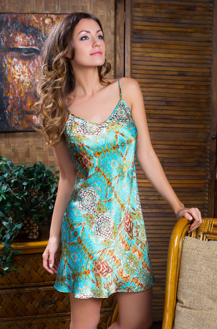 Ночные сорочки Mia-Mia Ночная сорочка Adriana (L) ночные сорочки мамин дом ночная сорочка harmony