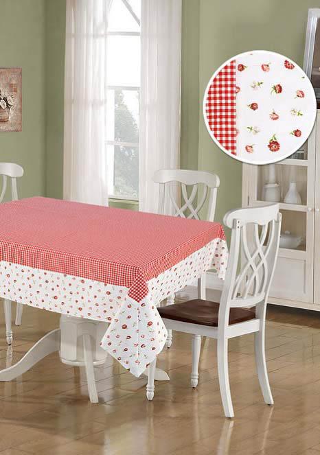 Скатерти и салфетки Kauffort Скатерть Karen Цвет: Красный (137х160 см) штора kauffort barolo k