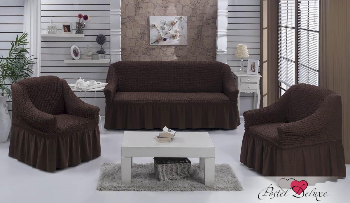{} BULSAN Набор чехлов для дивана Bulsan Цвет: Коричневый bulsan набор чехлов для дивана bulsan цвет горчичный