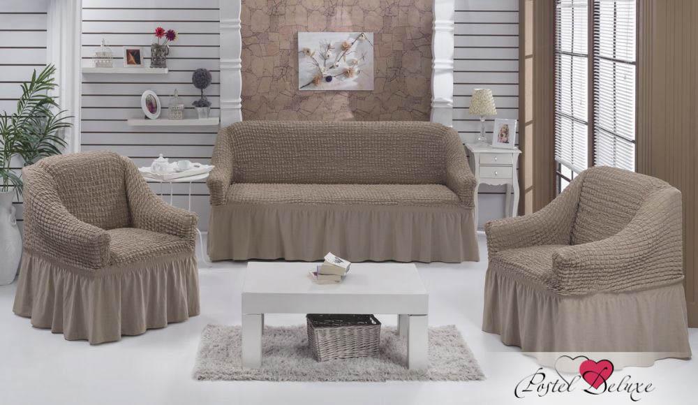 {} BULSAN Набор чехлов для дивана Bulsan Цвет: Кофейный bulsan набор чехлов для дивана bulsan цвет горчичный