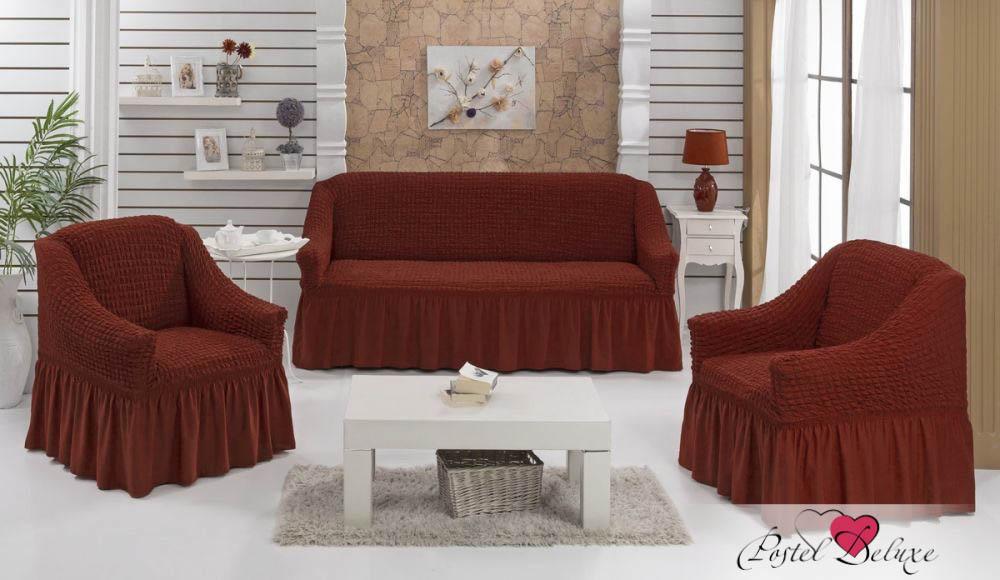 {} BULSAN Набор чехлов для дивана Bulsan Цвет: Кирпичный bulsan набор чехлов для дивана bulsan цвет горчичный