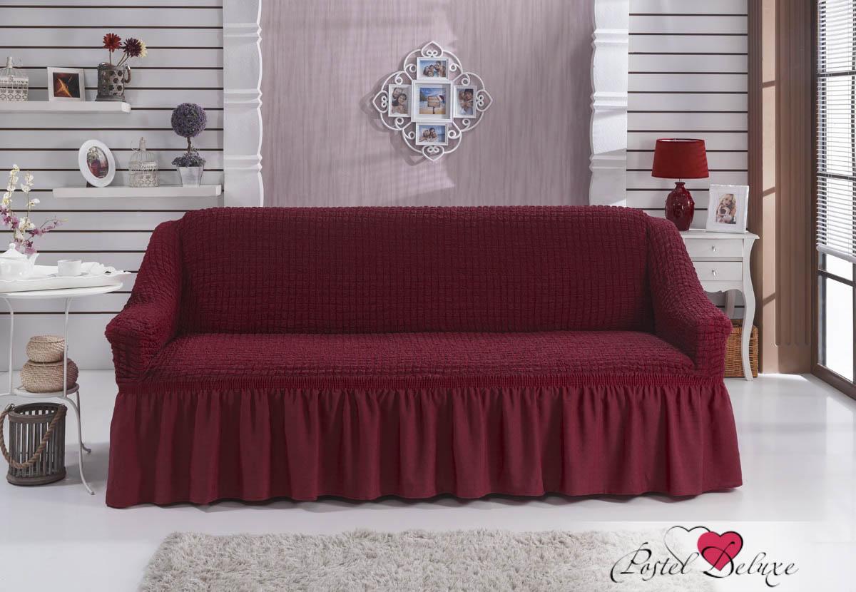 {} BULSAN Чехол для дивана Bulsan Цвет: Бордовый bulsan набор чехлов для дивана bulsan цвет горчичный