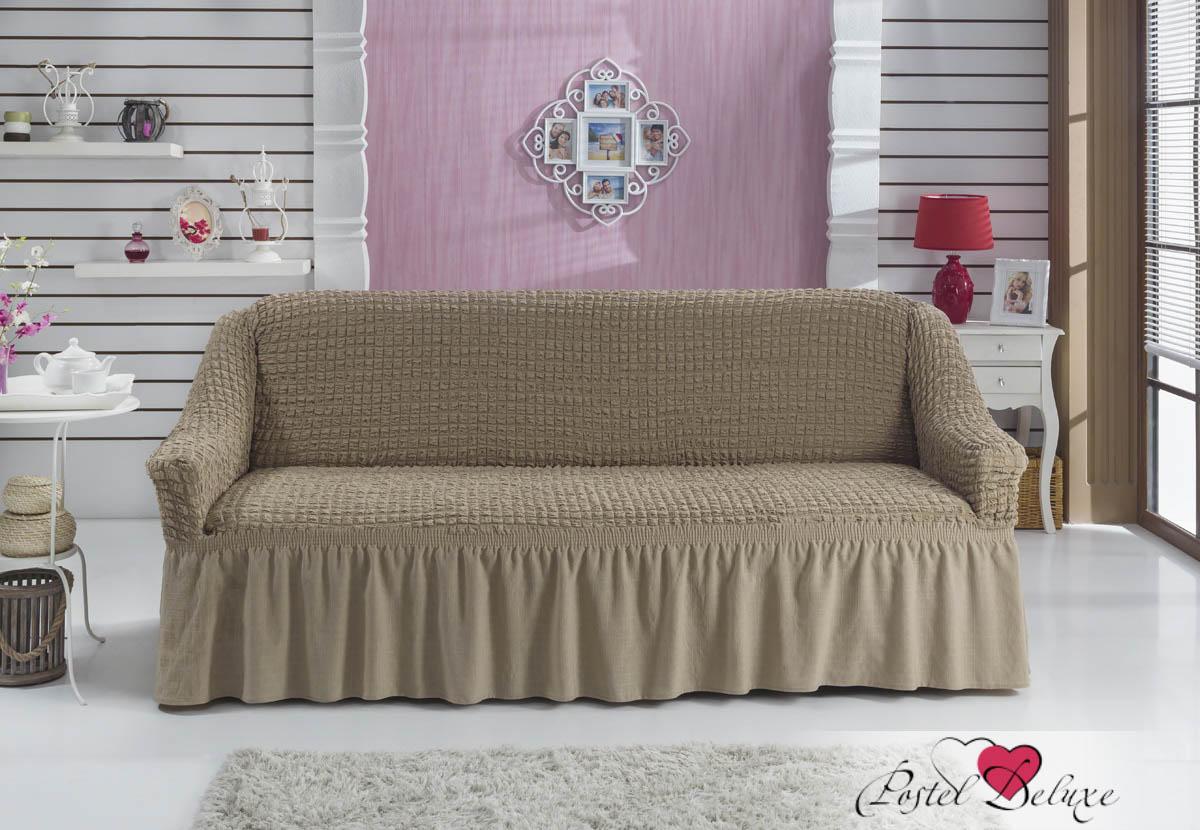 {} BULSAN Чехол для дивана Bulsan Цвет: Кофейный bulsan набор чехлов для дивана bulsan цвет горчичный