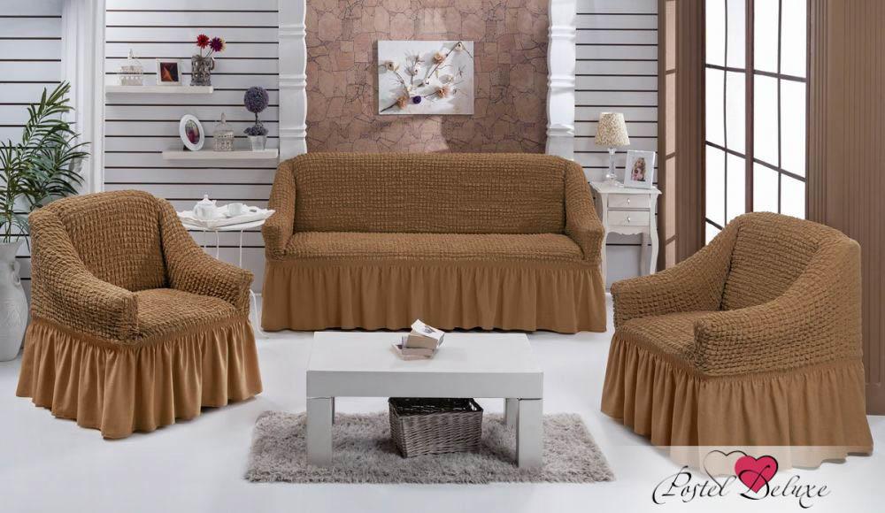 {} Every Набор чехлов для дивана Every Цвет: Горчичный набор чехлов для мягкой мебели 3 предмета every 1799 char009