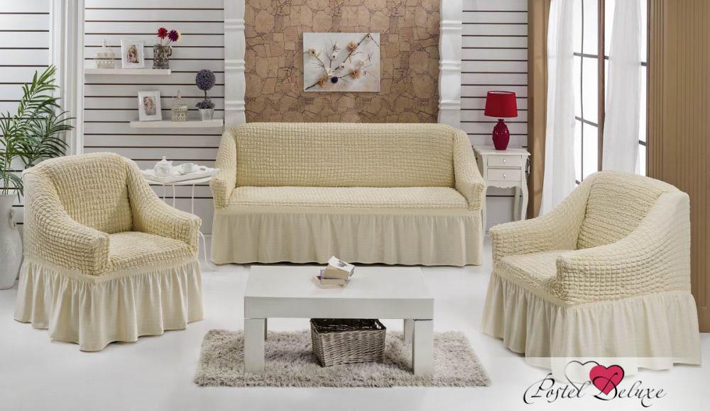 {} Every Набор чехлов для дивана Every Цвет: Натурал набор чехлов для мягкой мебели 3 предмета every 1799 char009