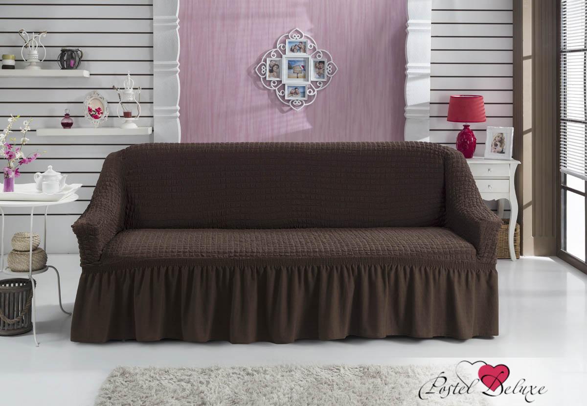 {} BULSAN Чехол для дивана Bulsan Цвет: Коричневый bulsan набор чехлов для дивана bulsan цвет горчичный