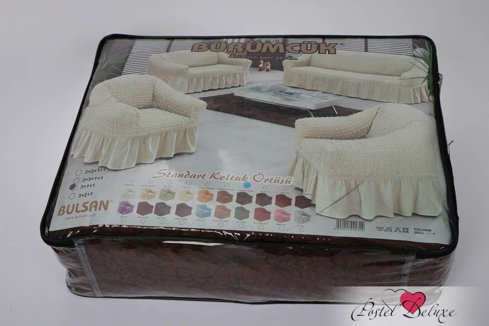 {} BULSAN Чехол для дивана Bulsan Цвет: Зеленый bulsan набор чехлов для дивана bulsan цвет горчичный