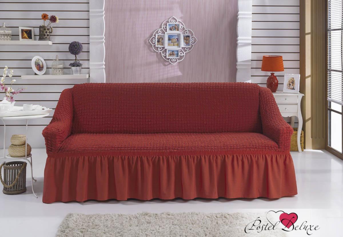 {} BULSAN Чехол для дивана Bulsan Цвет: Кирпичный bulsan набор чехлов для дивана bulsan цвет горчичный