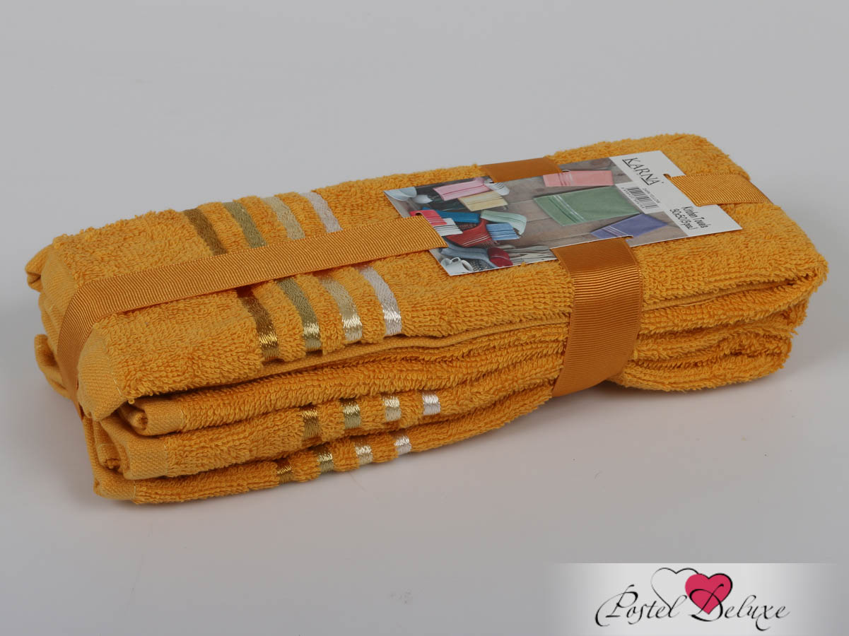 Полотенца Karna Полотенце Bale Цвет: Темно-Желтый (30х50 см - 3 шт) karna karna bale 30 50 3