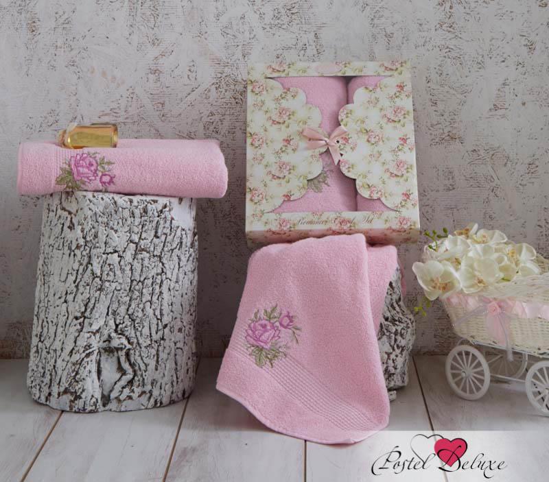 Полотенца Karna Полотенце Romans Цвет: Розовый (Набор)