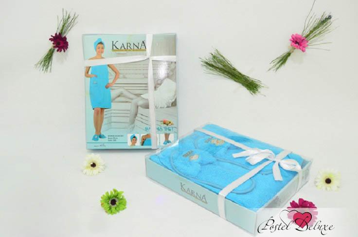 Сауны, бани и оборудование Karna Набор для сауны Paris Цвет: Грязно-Розовый сауны бани и оборудование valentini набор для сауны fashion цвет песочный