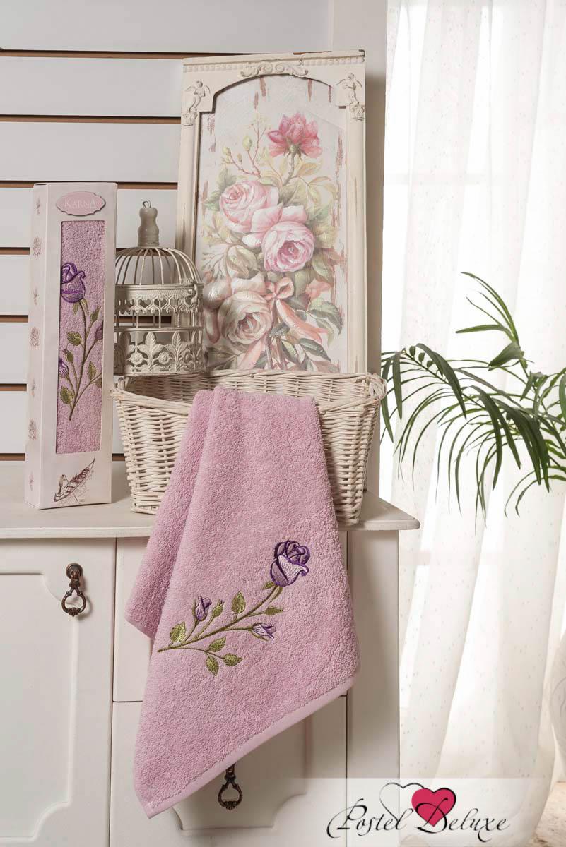 Полотенца Karna Полотенце Ange Цвет: Грязно-розовый (40х80 см) аксессуары для косплея cat corner cos cosplay cross ange ange
