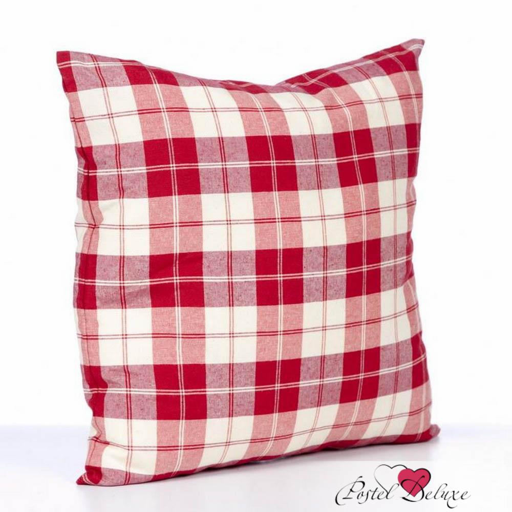 Декоративные подушки Kauffort Декоративная подушка Cottage Цвет: Красный (39х39) штора kauffort barolo k