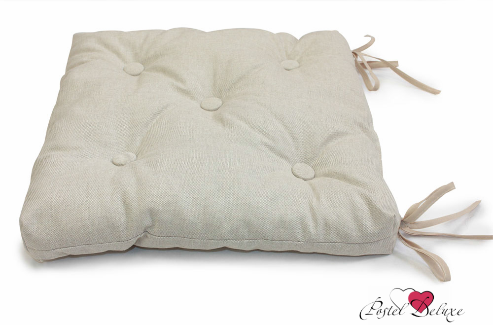 Подушки на стул Kauffort Подушка на стул Liso Цвет: Серый (40х40) kauffort подушка на стул нosta цвет бордово фиолетовый 40х40