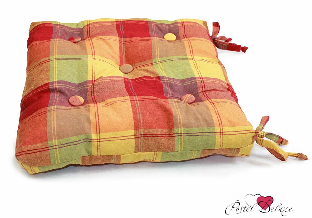 Подушки на стул Kauffort Подушка на стул Rumba Цвет: Оранжевый (40х40) подушка на стул арти м райский сад