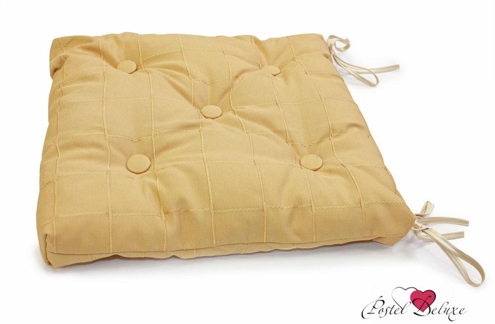 Подушки на стул Kauffort Подушка на стул Kimberly Цвет: Золото (40х40) подушка на стул арти м райский сад