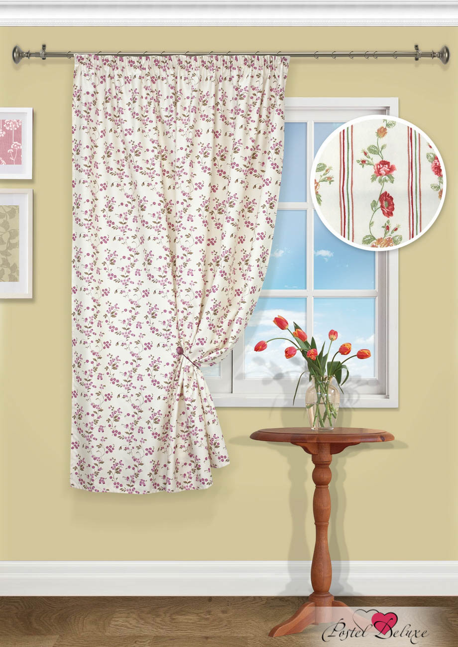 Шторы Kauffort Классические шторы Flower шторы интерьерные kauffort штора provence k на тесьме 136х175
