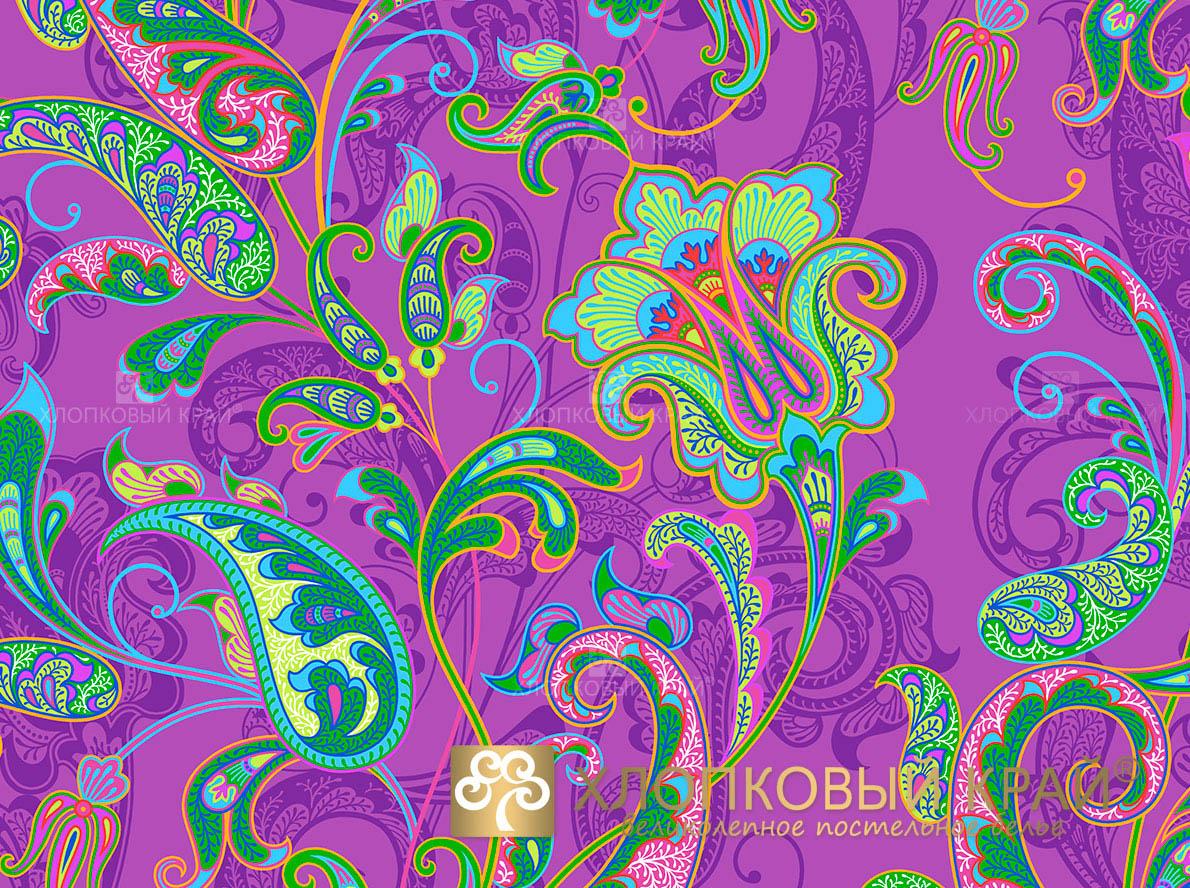 Постельное белье Хлопковый Край Постельное белье Кемер Цвет: Виола (1,5 спал.)