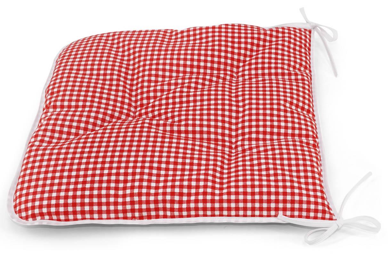 Подушки на стул Kauffort Подушка на стул Kimberly Цвет: Красный (40х40) подушка на стул арти м райский сад
