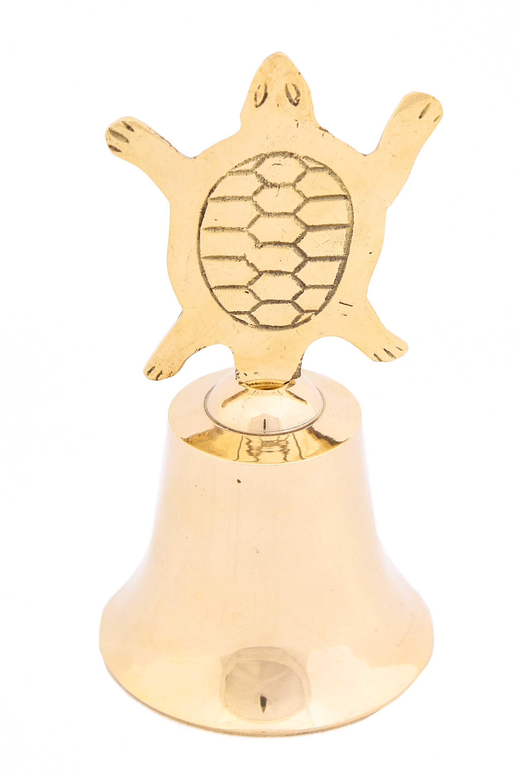 {} Ганг Колокольчик Черепашка (6х11 см) миниатюра колокольчик цвет серебристый 6 см