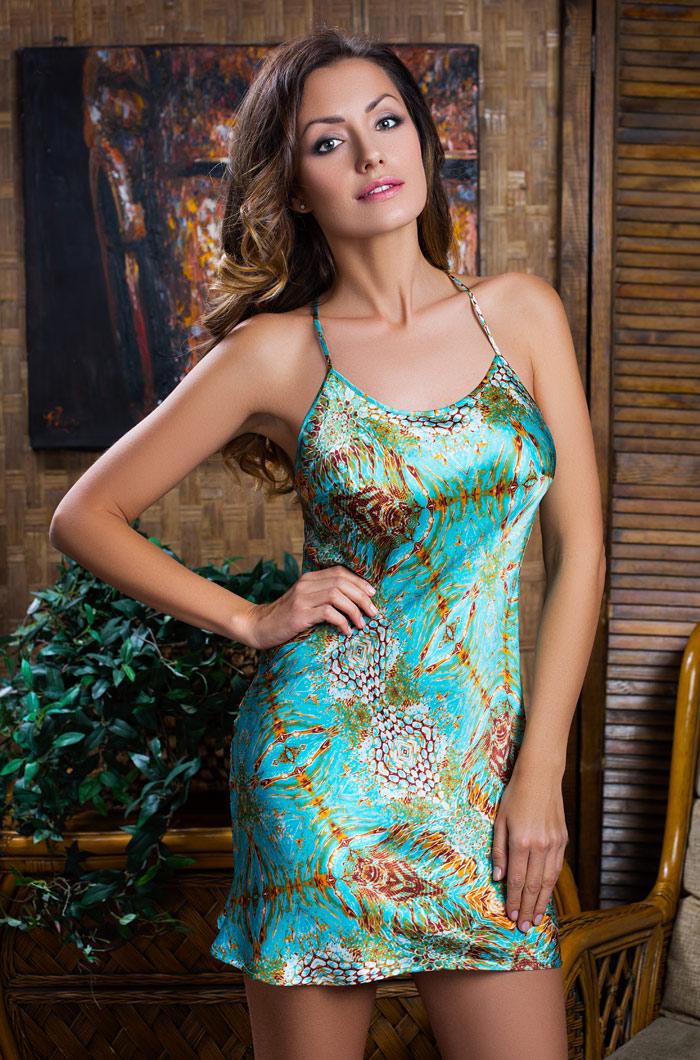Ночные сорочки Mia-Mia Ночная сорочка Adriana (S) сорочка и стринги soft line mia размер s m цвет белый