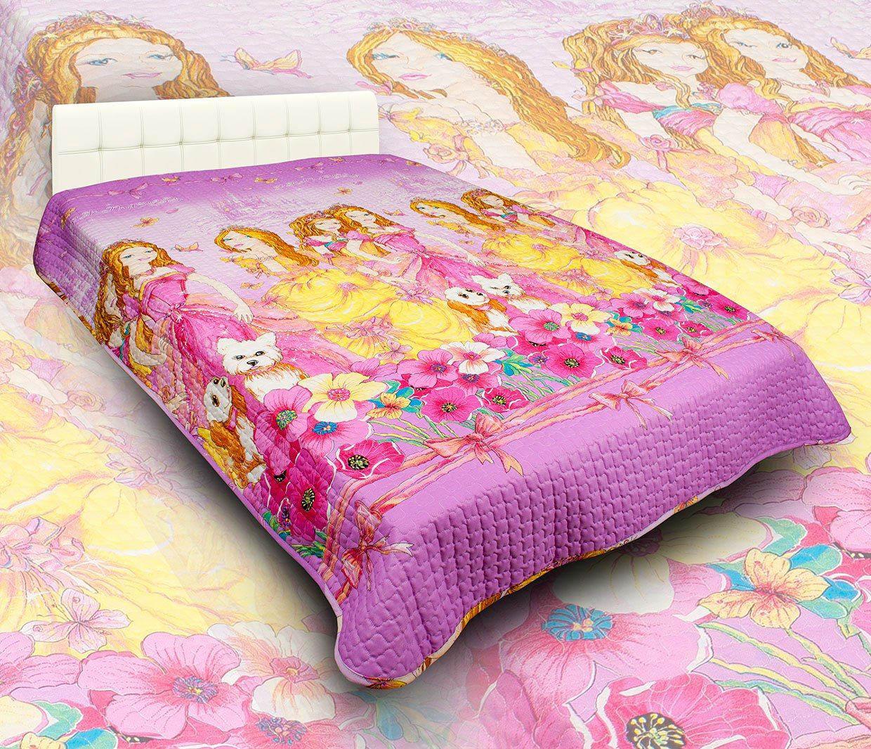 Детские покрывала, подушки, одеяла AlViTek Детское покрывало Красавицы (150х215 см) покрывало рафаэль поплин 150х215