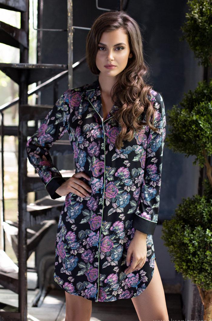 Ночные сорочки Mia-Mia Ночная сорочка Sharlotta (xxL) ночные сорочки mia mia ночная сорочка cleopatra xxl