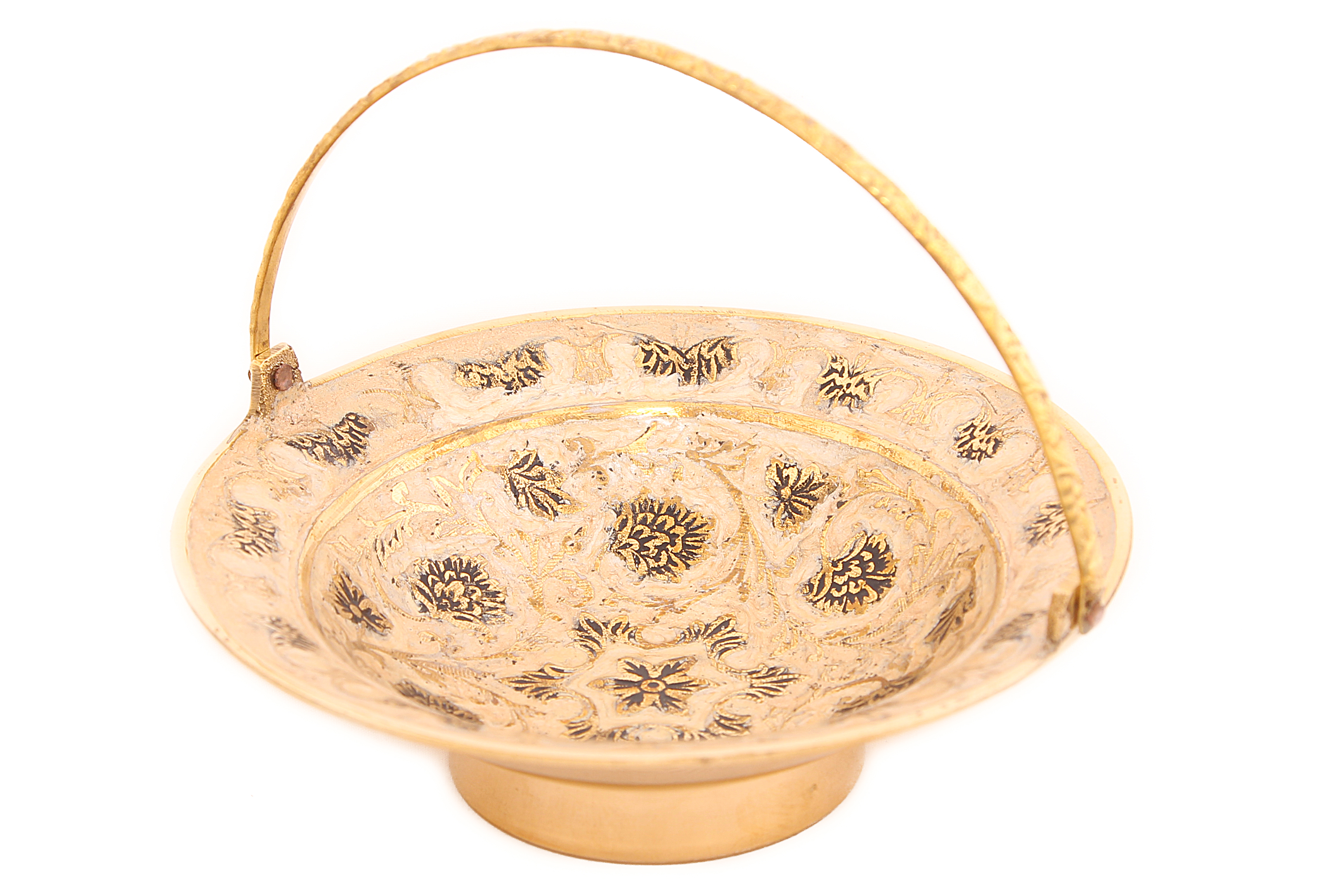 {} Ганг Ваза для фруктов Sahra (5х15х15 см) ганг ваза фруктовница ракушка