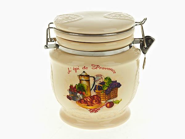 {} Polystar Банка для сыпучих French Breakfast (12х12х14 см) polystar кружка романс 310 мл