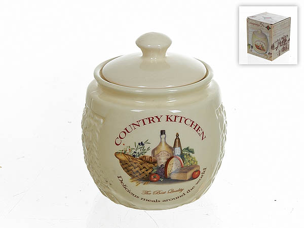 {} Polystar Сахарница Country Kitchen (10х12 см) countryside magazine country kitchen – a project andidea book paper only