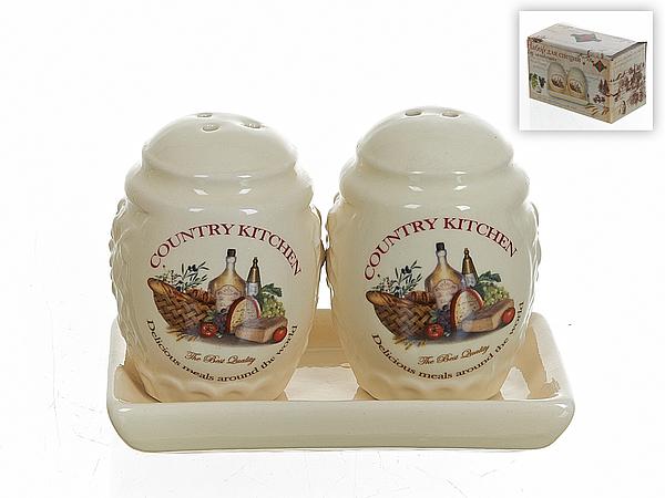 {} Polystar Набор для специй Country Kitchen (7х9х13 см) набор для специй polystar прованс 6 предметов