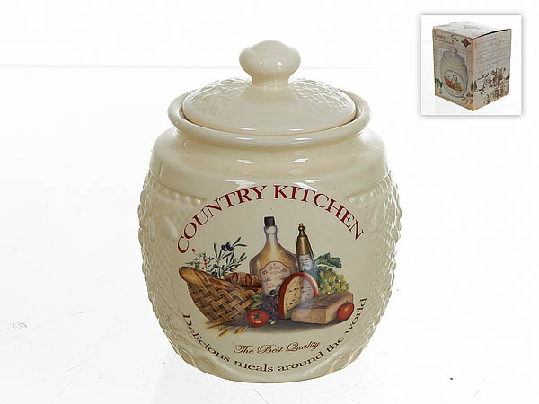 {} Polystar Банка для сыпучих Country Kitchen (13х16 см) купить