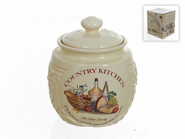 {} Polystar Банка для сыпучих Country Kitchen (12х14 см) купить