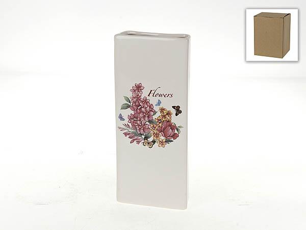 {} Polystar Ваза Flowers-Loreto (4х11х25 см) polystar кружка романс 310 мл