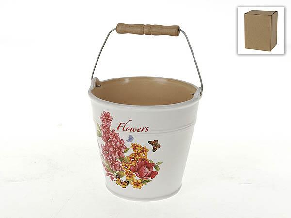 {} Polystar Кашпо Flowers-Loreto (12х13 см) парфюмированная вода montale orange flowers 20 мл