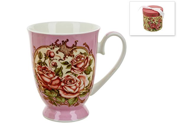 {} Polystar Кружка Нежные Розы (360 мл) кружка polystar collection джем 400 мл