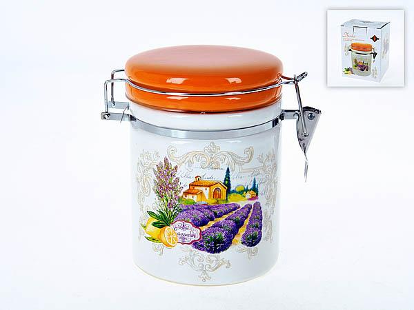 {} Polystar Банка для сыпучих Прованс (11х15 см) банка для сыпучих продуктов polystar sweet home 850 мл