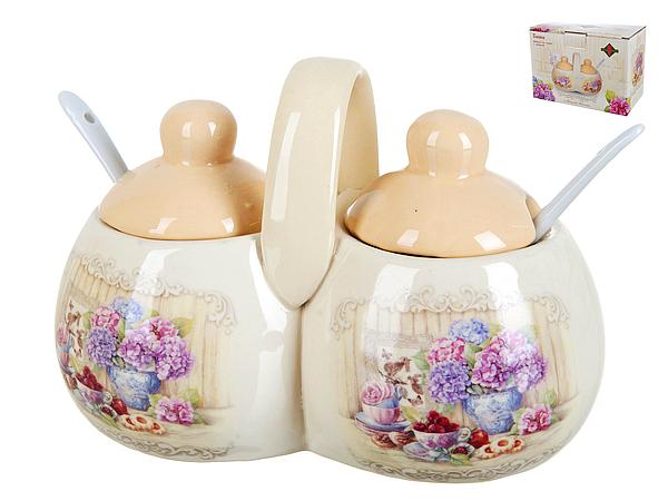 {} Polystar Набор для специй Sweet Home (9х12х16 см) набор для специй polystar джем 6 предметов