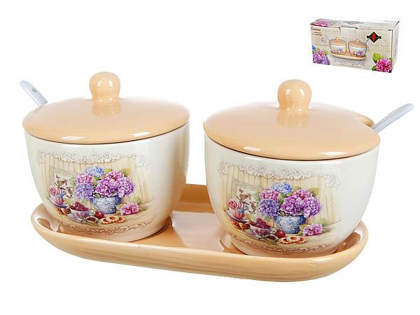 {} Polystar Банки для сыпучих Sweet Home (Набор) банка для сыпучих продуктов polystar sweet home 850 мл